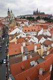 Centro histórico de Praga Imagen de archivo