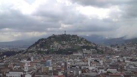 Centro histórico de Quito, Equador video estoque