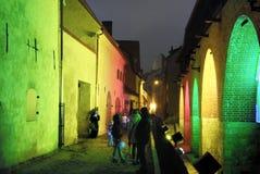 Centro histórico de Riga, em Latvia Imagens de Stock Royalty Free