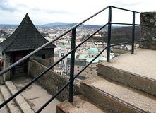 Centro histórico de Salzburg, Austria Foto de archivo
