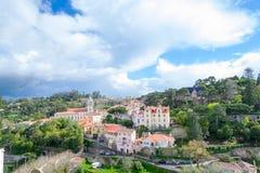 Centro histórico de Sintra (Portugal) Foto de archivo libre de regalías