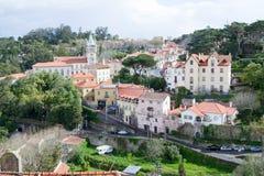 Centro histórico de Sintra (Portugal) Imagenes de archivo