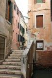 Centro histórico de Venezia fotografia de stock