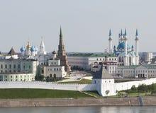 Centro histórico en Kazan Fotos de archivo libres de regalías