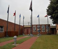 Centro histrory militar, museu imagens de stock royalty free