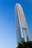 Centro Hong Kong de las finanzas internacionales Fotos de archivo