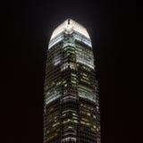 Centro Hong Kong de las finanzas internacionales Imagenes de archivo