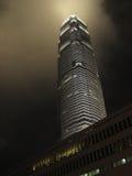 Centro Hong-Kong de las finanzas internacionales Fotos de archivo libres de regalías