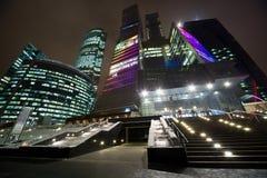 Centro internazionale di affari di Mosca Immagine Stock Libera da Diritti