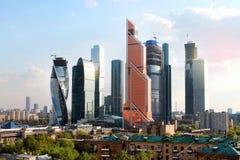 Centro internazionale di affari di Mosca Immagini Stock Libere da Diritti