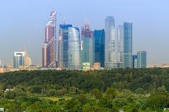 Centro internazionale di affari di Mosca Fotografia Stock
