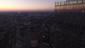 Centro internazionale di affari di Mosca archivi video