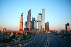 Centro internazionale di affari di Mosca Immagini Stock