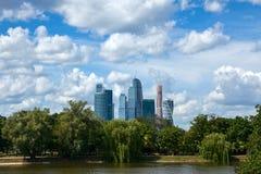 Centro internazionale di affari di Mosca Fotografie Stock Libere da Diritti