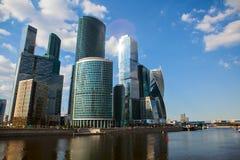 Centro internazionale di affari di Mosca Fotografia Stock Libera da Diritti