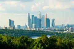 Centro internazionale di affari di Mosca Fotografie Stock