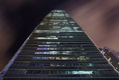 Centro internazionale di commercio Fotografia Stock Libera da Diritti