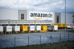 Centro logistico di Amazon Immagine Stock Libera da Diritti