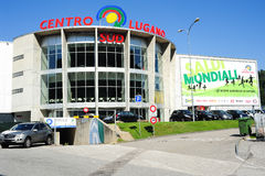 Centro  Lugano Sud shopping mall Stock Photography