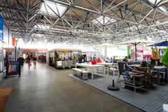 Centro Lugano Sud-winkelcomplex Stock Foto