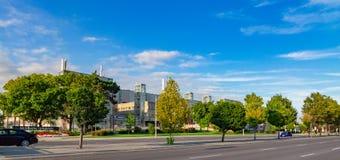Centro médico Hamilton Ontario Canada de universidade de Mcmaster fotos de stock