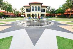 Centro malese Singapore di eredità Fotografie Stock Libere da Diritti