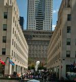 Centro Manhattan di Rockefeller Immagini Stock Libere da Diritti