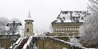 Centro medieval, Piatra Neamt Imagens de Stock