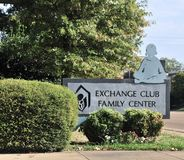 Centro Memphis, TN de la familia del club del intercambio Fotos de archivo