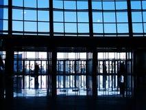 Centro moderno di affari Fotografia Stock Libera da Diritti