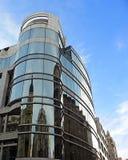 Centro moderno di affari Fotografia Stock