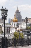 Centro Moscovo Foto de Stock