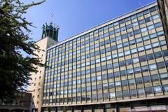 Centro municipal imagen de archivo