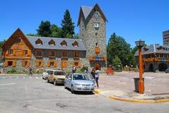 Centro municipal - Bariloche - la Argentina Imagen de archivo