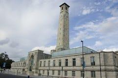 Centro municipal de Southampton Fotografía de archivo