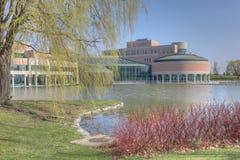 Centro municipal en Markham, Canadá en un día hermoso fotos de archivo libres de regalías