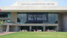 Centro nacional da constituição em Philadelphfia Imagens de Stock Royalty Free