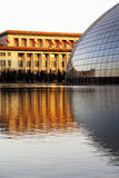 Centro nacional de Beijing para as artes de palco   Fotos de Stock