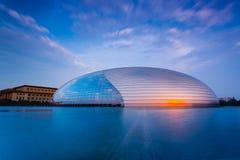 Centro nacional de China para as artes de palco Foto de Stock