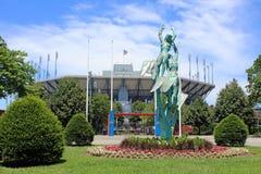 CENTRO NACIONAL DEL TENIS DE USTA Foto de archivo libre de regalías