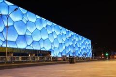 Centro nacional Pekín del aquatics Foto de archivo libre de regalías