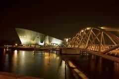 Centro Nemo di scienza a Amsterdam Fotografie Stock Libere da Diritti