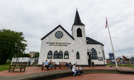 Centro norueguês das artes da igreja fotografia de stock