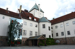 Centro norvegese di olocausto Immagine Stock