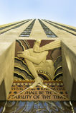 Centro NYC de Rockefeller Fotografía de archivo