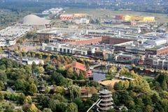 Centro Oberhausen panorama Stock Photos