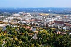 Centro Oberhausen panorama Stock Image