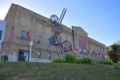 Centro olímpico, Lake Placid, Nueva York, los E.E.U.U. Imagen de archivo libre de regalías
