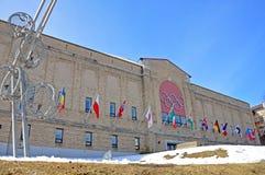 Centro olímpico, Lake Placid, Nueva York, los E.E.U.U. Fotos de archivo libres de regalías