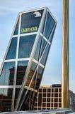 Centro operazioni di Bankia, Madrid, Spagna Fotografia Stock Libera da Diritti